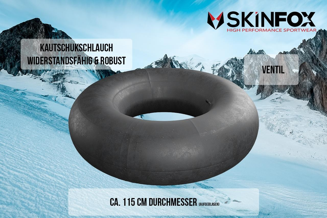SKINFOX LKW SNOW TUBE Schlitten Schneereifen Rutschreifen Bob Rodel Reifen