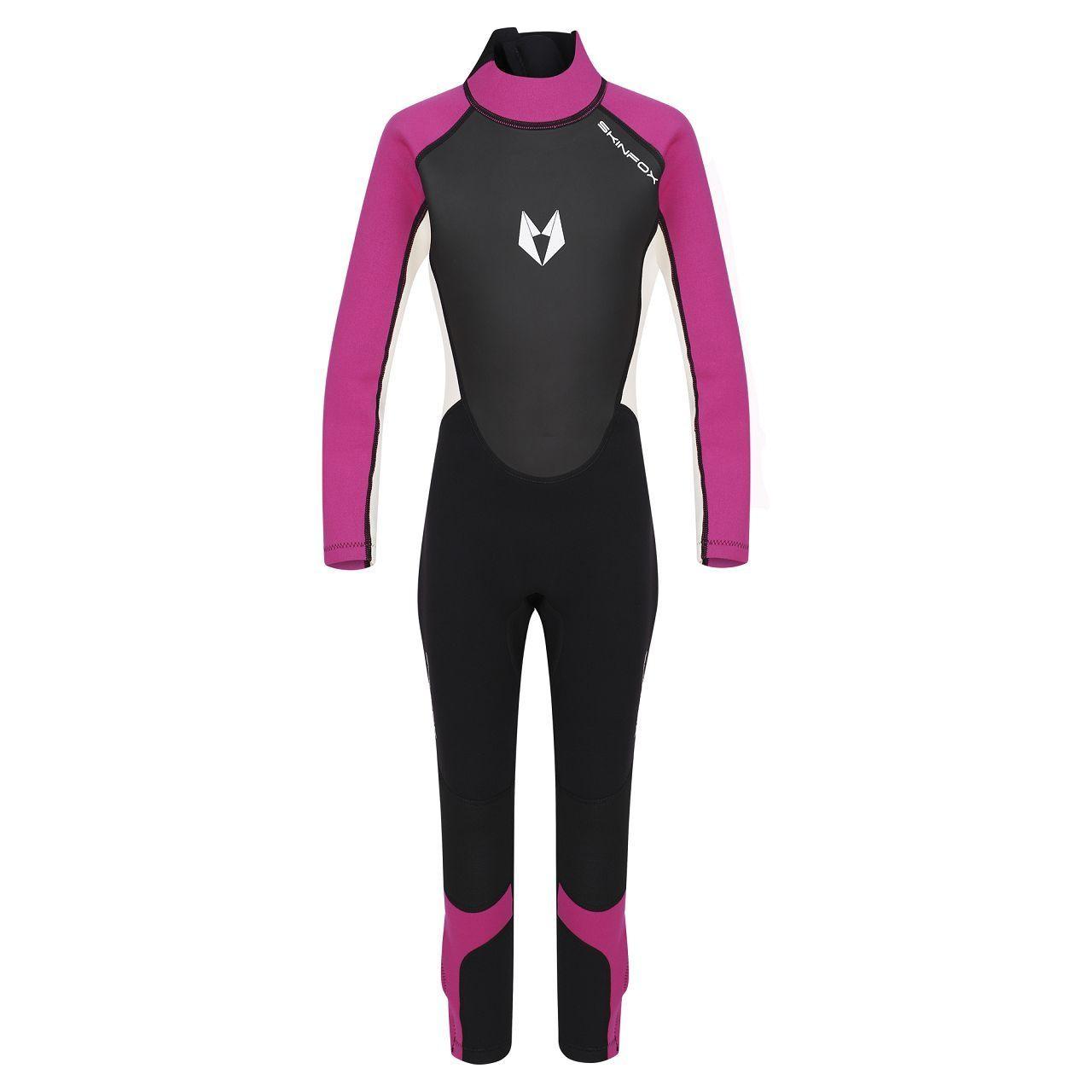 SKINFOX SCOUT 1-16 J. Kinder Full Suit Neoprenanzug Schwimmanzug pink
